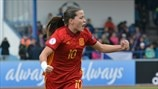 Watch Pina strike for Spain's WU17s