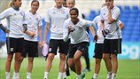 UEFA Women's Champions League Final - Olympique Lyon Squad Training