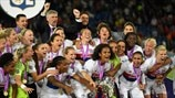 Highlights: See how Lyon became queens of Europe again