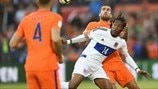 Gerson Rodrigues (Luxembourg) & Kevin Strootman (Netherlands)
