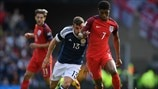 James McArthur (Scotland) & Marcus Rashford (England)