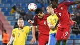 Portugal deny Sweden consolation win