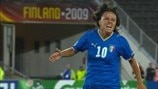 Watch Italy goal from 2009 win against Russia