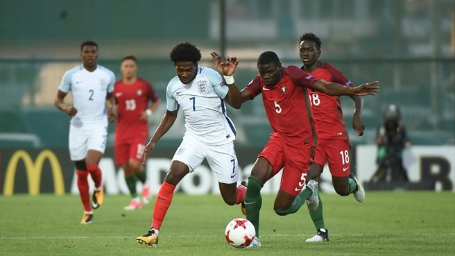 Isaac Buckley-Ricketts (England) & Abdu Conté (Portugal)