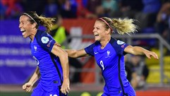 Five France goals including Abily's crucial free-kick