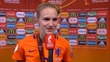 Vivianne Miedema: 'We're so happy!'