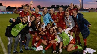 WU19 EURO semi-finals on Thursday