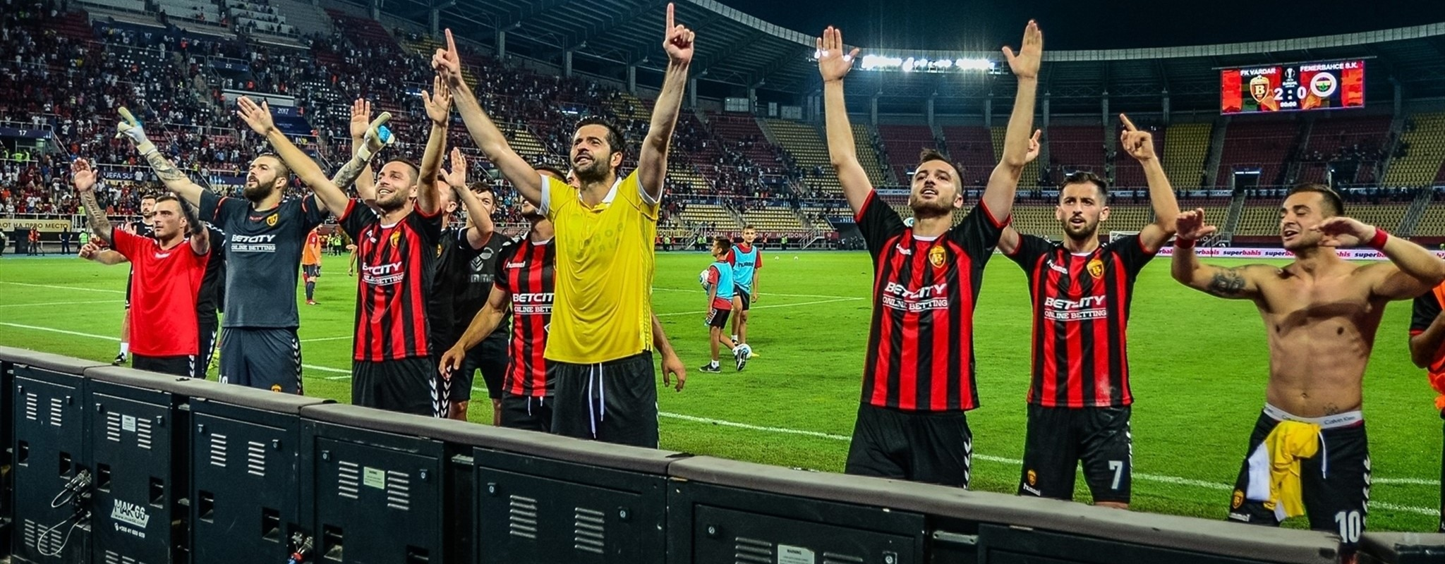 Vardar and Milan star in #UEL play-off openers