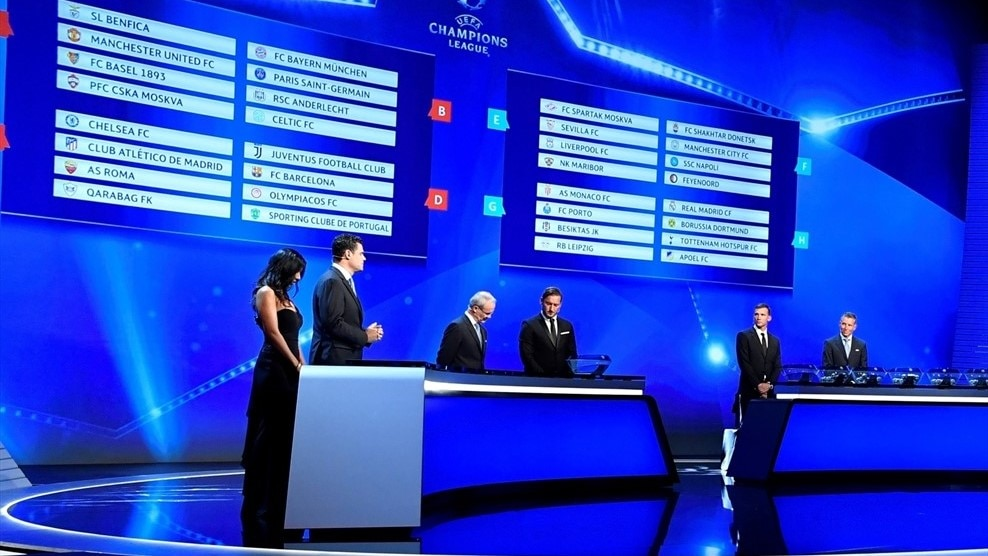 UEFA News: UEFA Champions League Group Stage Draw