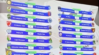 Youth League domestic champions path draw