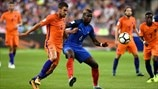 Kevin Strootman (Netherlands) & Paul Pogba (France)