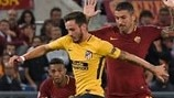 Alisson keeps Atlético at bay as Roma make their point