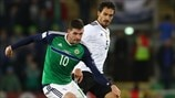 Kyle Lafferty (Northern Ireland) & Mats Hummels (Germany)