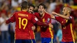 Spain's top five European Qualifiers goals