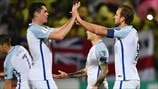 England's top five European Qualifiers goals