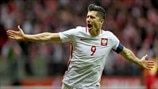Robert Lewandowski: Watch all of his European Qualifiers goals