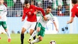 Mohamed Elyounoussi (Norway) & Corry Evans (Northern Ireland)