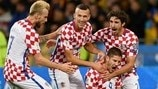 Highlights: Ukraine v Croatia