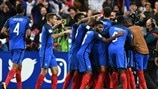 France's top five European Qualifiers goals