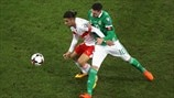 Ricardo Rodriguez (Switzerland) & Kyle Lafferty (Northern Ireland)