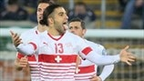 First leg highlights: Northern Ireland 0-1 Switzerland