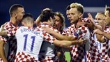 Play-off highlights: Croatia 4-1 Greece
