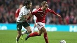 First leg highlights: Denmark 0-0 Republic of Ireland