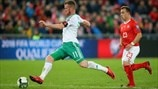 Chris Brunt (Northern Ireland) & Xherdan Shaqiri (Switzerland)