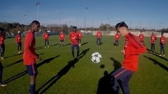 Paris youngsters take the skills test