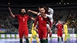 Highlights: Ukraine v Portugal