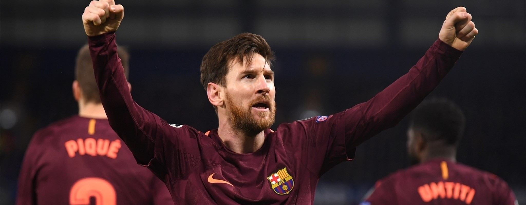 Messi ends hoodoo to grab Barcelona draw at Chelsea