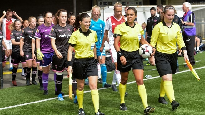 Ajax v Wexford Youths