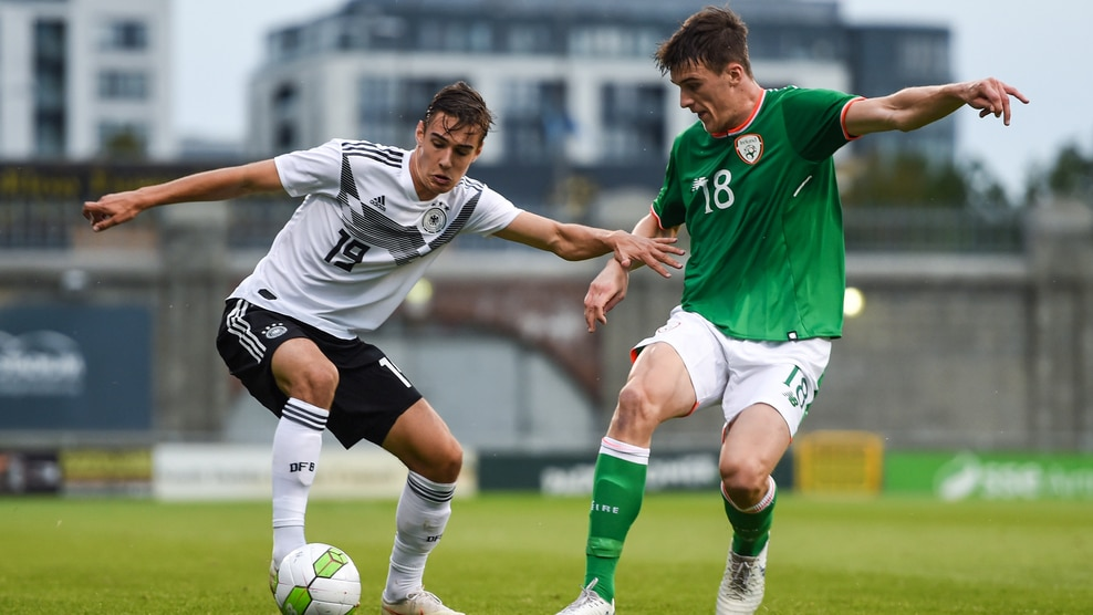 Florian Neuhaus (Germany) & Ryan Delaney (Republic of Ireland)