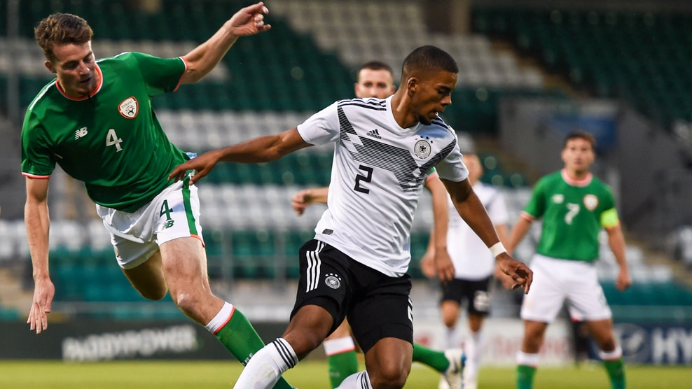 Conor Shaughnessy (Republic of Ireland) & Benjamin Henrichs (Germany)