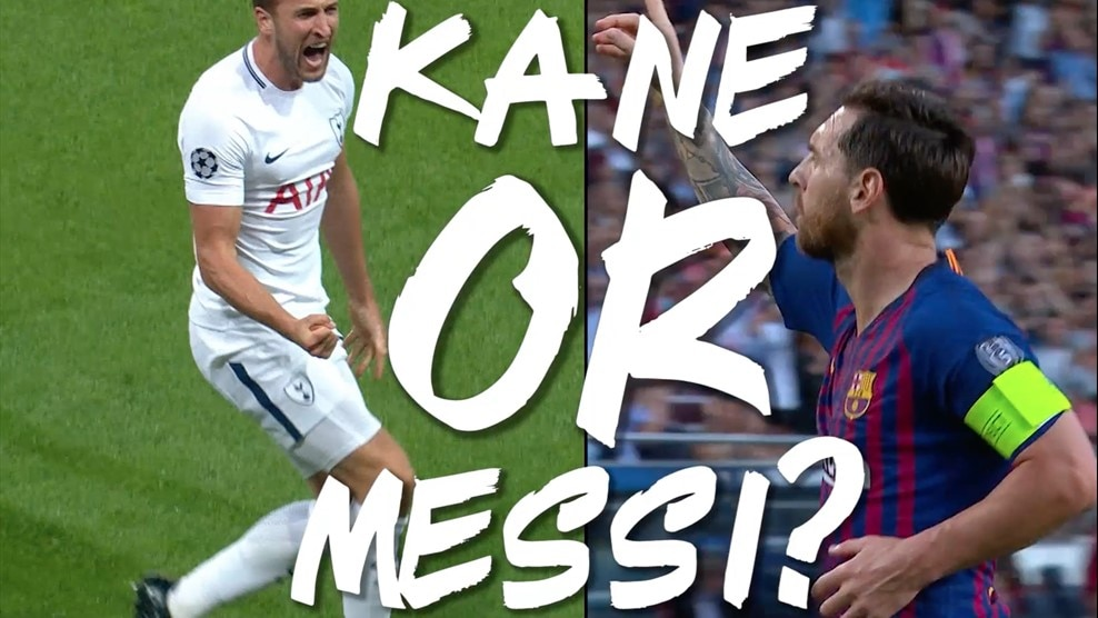 UEFA News: Harry Kane V Lionel Messi: Head-to-head