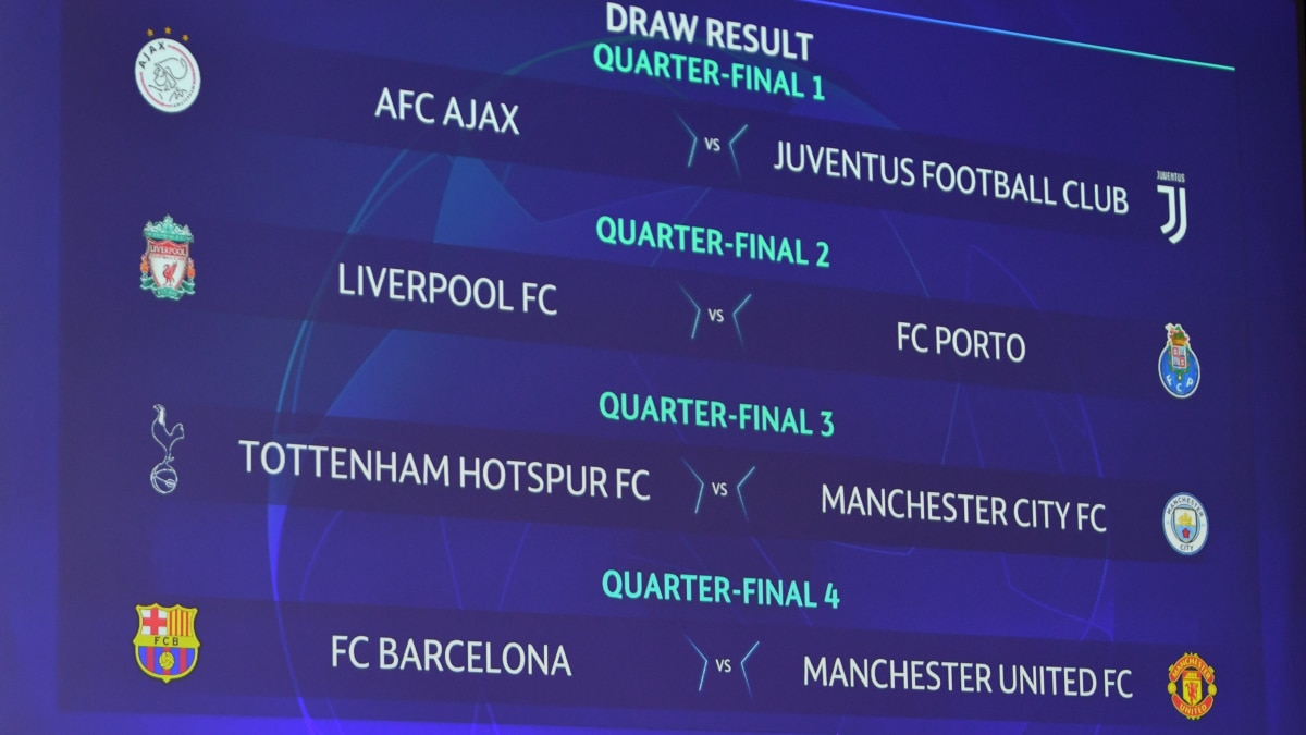 Champions League Quarter Final And Semi Final Draws Uefa Champions