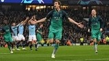 Man. City 4-3 Tottenham: Champions League at a glance