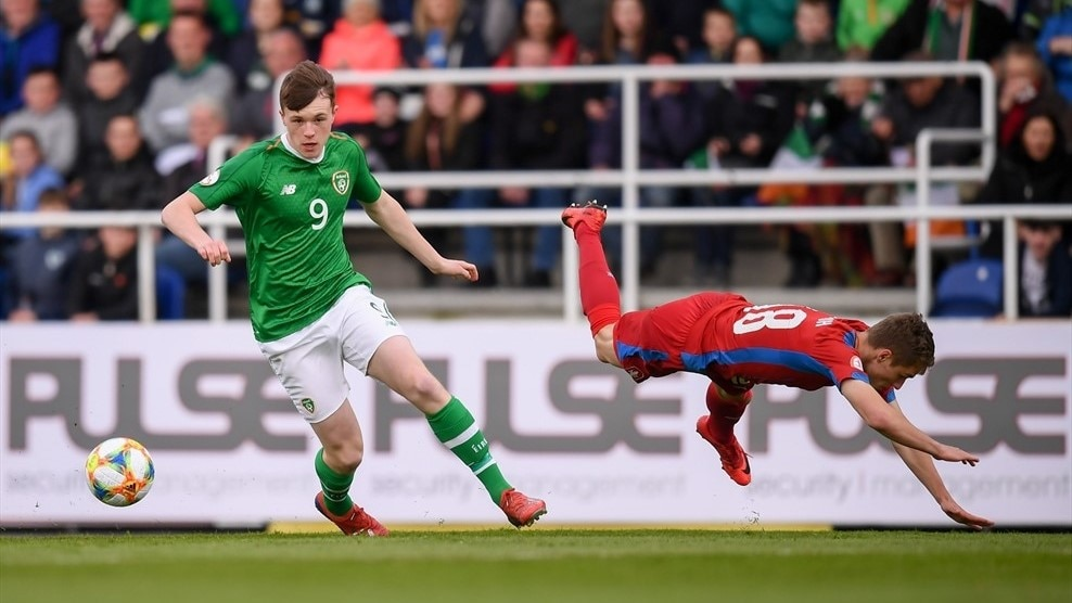 Conor Carty (Republic of Ireland) & Josef Koželuh (Czech Republic)