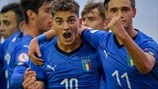 Group stage highlights: Italy 4–1 Spain