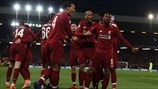 Liverpool 4-0 Barcelona: Champions League at a glance