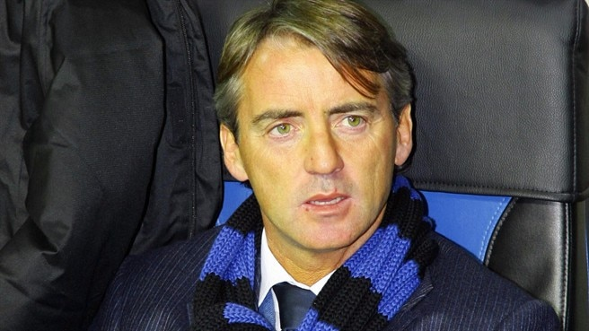 Mancini has a happy birthday