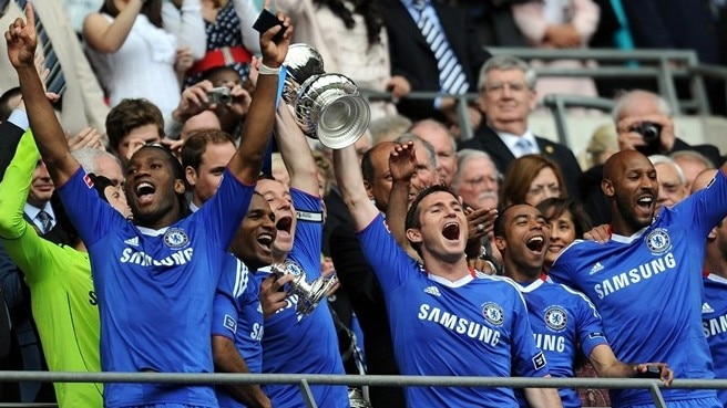 Drogba delivers double glory for Chelsea