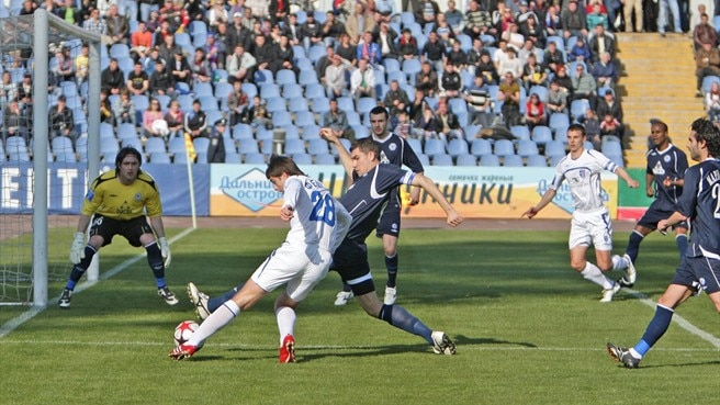 Lucky stars as Tavriya prevail in Ukrainian Cup