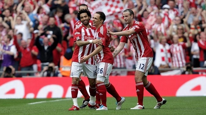 Five-goal Stoke through to first FA Cup final
