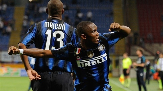 Eto'o fires Inter into Coppa Italia final