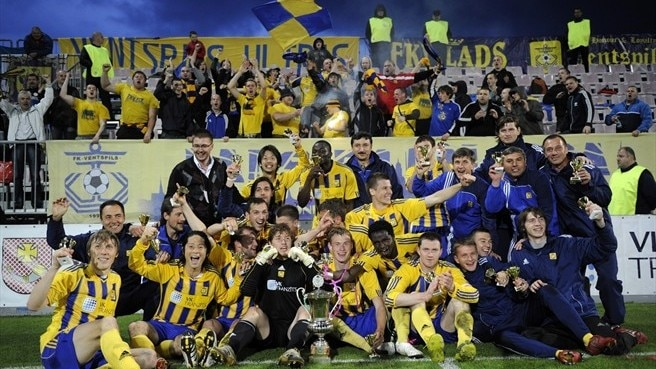 Ventspils victorious in Latvian Cup final