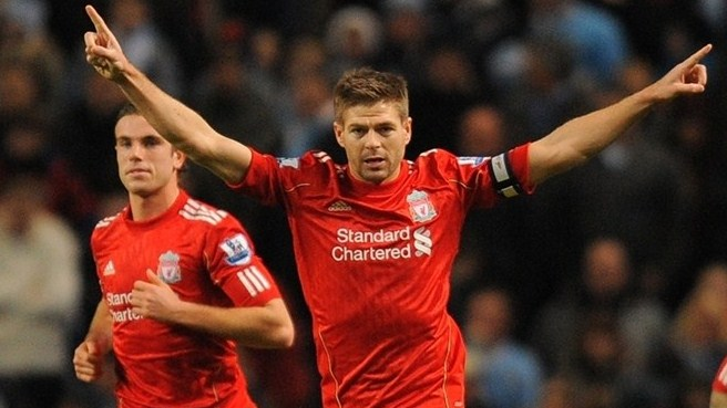 Gerrard delight at Liverpool deal