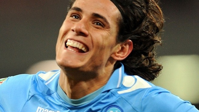Cavani carries Napoli into Coppa Italia semi-finals