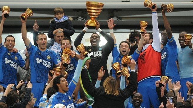 Sole Brandão goal wins League Cup for Marseille