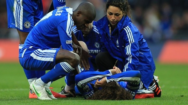 Chelsea lose Luiz for Barcelona tie